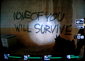 None of You Will Survive by tinybackpack