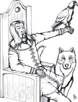 Jarl of Silthrim - Pencils by SnipperWorm