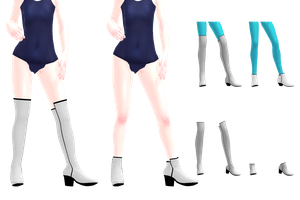 MMD Boots DL by 2234083174