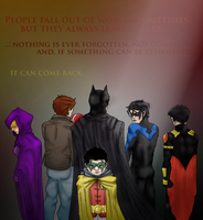 Damian Wayne: Can be Remembered by They-Are-Not-Stars