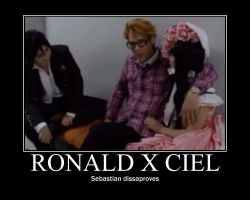 Ronald x Ciel by xo-Sebby-ox