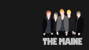 The Maine Band Minimalist by wesleymosc