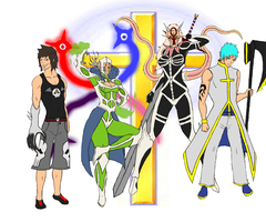 Bleach OC Group: The Cross by Jade-Queen-Of-Souls