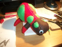 Christmas Baneling Plushie by Brainbread