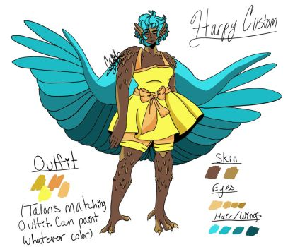 Harpy Custom (COMPLETED) by DamonTheDeer