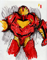 Iron Man MK by nicollearl