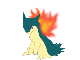 Typhlosion Chibi by Alpha-Bread