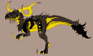 Concept Bazzers feral form by big-black-and-scary