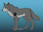 Maku's feral form by MasterofWolves99