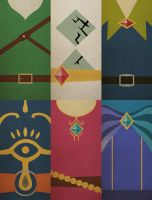 Skyward Sword Minimalistic posters by Lillian1810