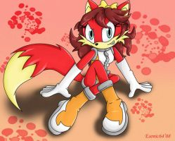 Fiona the Fox by esonic64