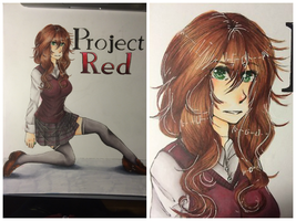 Project Red Cover by buttfabric