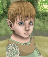 Elven Child by Stoofpot