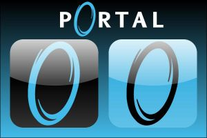 Portal Rounded Icons by firba1