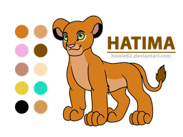 [2/3] Points Commission: Hatima Refernce Sheet by Howie62