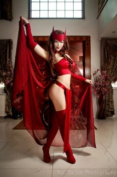 Ultimate Scarlet Witch - X-men by Mostflogged