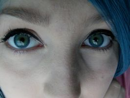 Chrysalis Contacts Close Up by MochiFairy