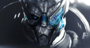 Garrus by fighterjetgirl88
