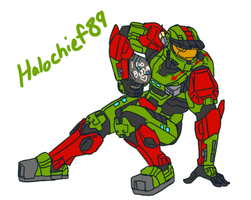 MySpartanFriends Halochief89 by Guyver89
