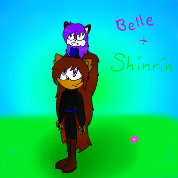 Belle and Uncle Shinrin by haruhihedgehog13