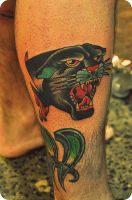 panther head by xveganmafiax