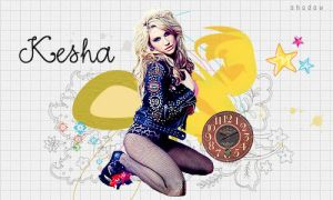 Banner Ke$ha by shad-designs