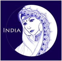 Indian Night by graphicgravy