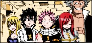 Fairy Tail 266 by imagleekandproud