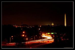 Washington DC At Night by Paperback-writer-00
