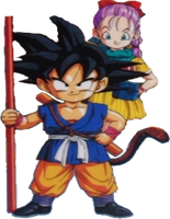 Goku and Bulma path to power version by ltdtaylor1970