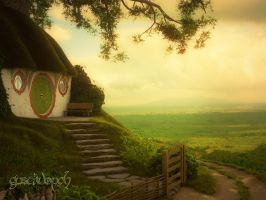 Bilbo's Bag End by gustavopch
