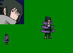 Sasuke Susanoo Sprite by DemonfoxKnight