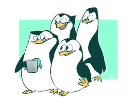 PENGUINS by xCandyliciousx