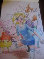 Adventure time by AnaVH