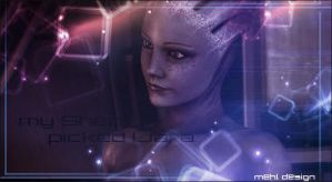 in love with: liara by ellieshep
