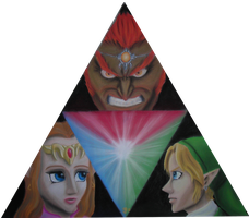 Triforce of Legend by DarthJader11