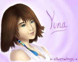 Yuna's Soft Smile by x-silverwings-x