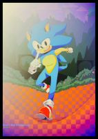 (Sonic the Hedgehog) by Artfrog75