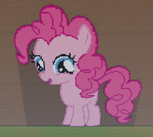 Pinkie Pie Filly Minecraft by annary