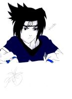 Sasuke in the Works by KaiPrincess