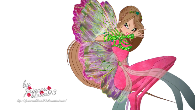 World of Winx Flora Dreamix Couture by PrincessBloom93
