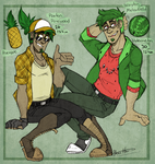 Humanized Fruits by BlasticHeart