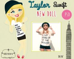 Taylor Swift Doll by AbbeyDenith
