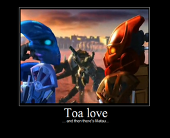 Toa love... and Matau by Halo-Yokoshima