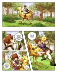 Final Fantasy V Comic Page 11 by cocosnowlo