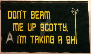 Don't Beam Me Up Scotty! by SinisterSaz