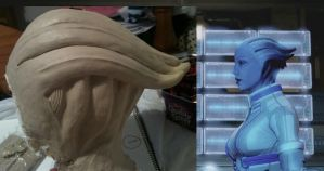 Asari Headpiece - Side by Vovea