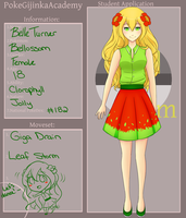 PGA: Belle Turner (REVAMP) by BbyBluu