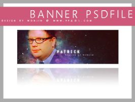 Banner psd - Patrick Stump by wonjin