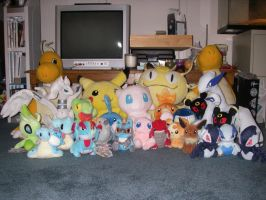 Pokemon Plush Collection by DarkFeather